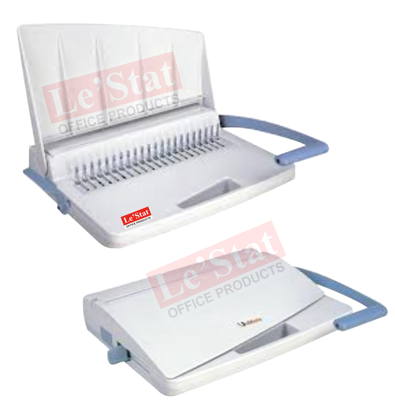 how to use comb binding machine